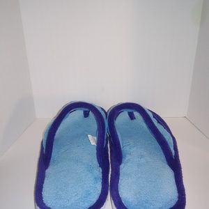 Isotoner Shoes - Isotoner Slipper Blue Woman's size 9.5-10